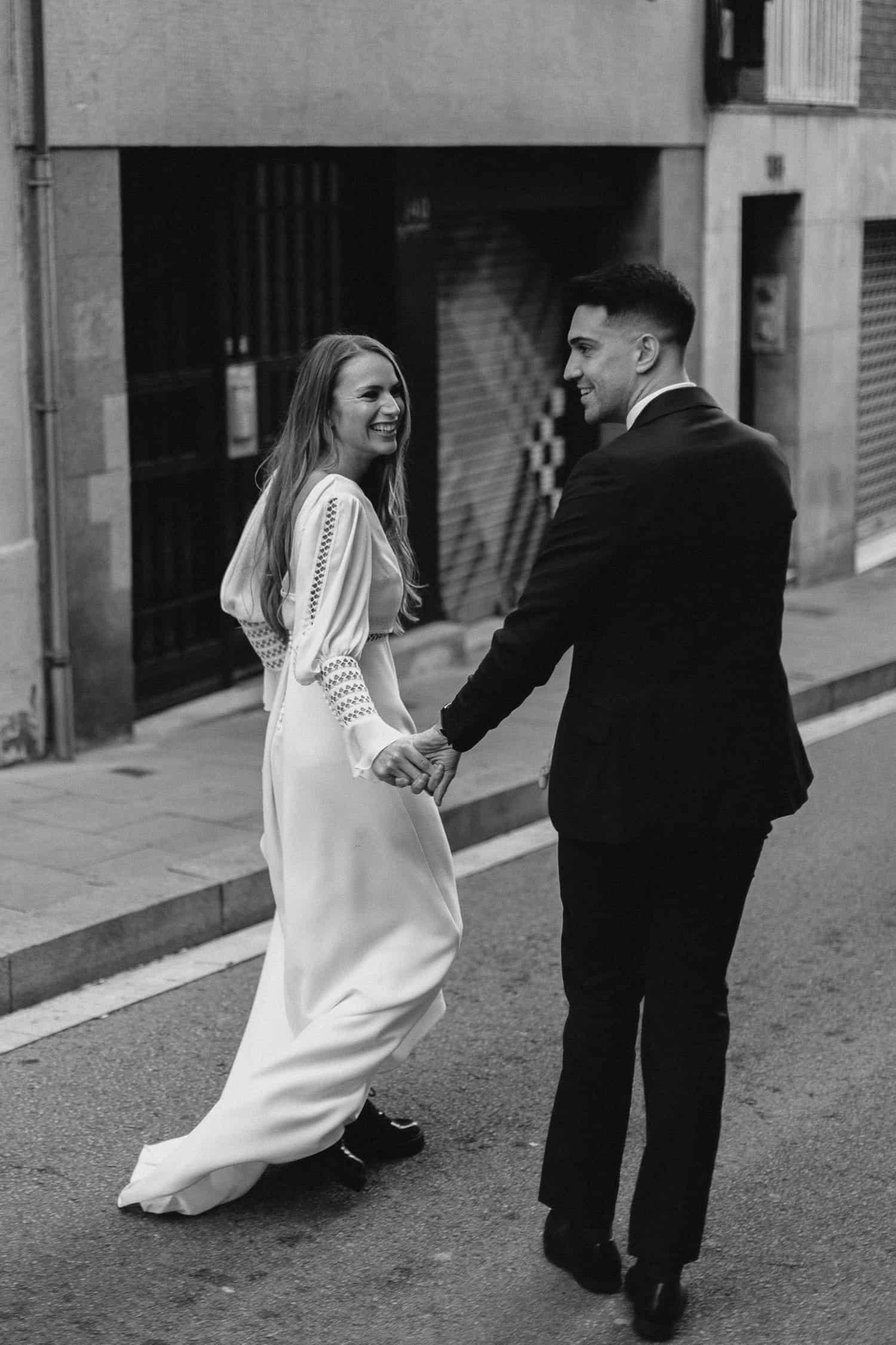 Urban wedding in Barcelona
