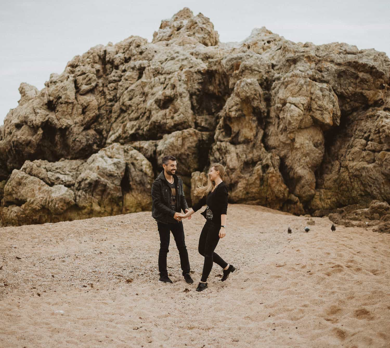 Photo shoot in the beach, Catalonia