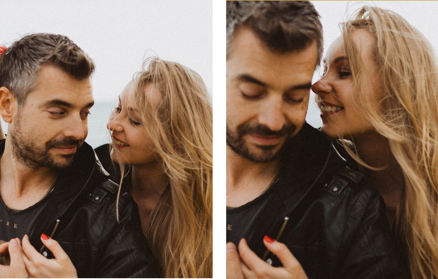 Engagement photo shoot in Barcelona