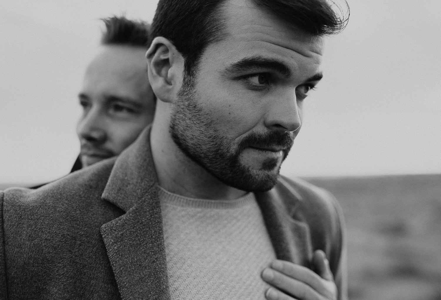 Same sex couple photo session in Barcelona
