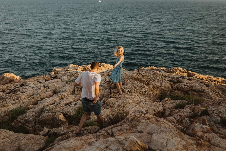 Couples photo shoot in Costa Brava