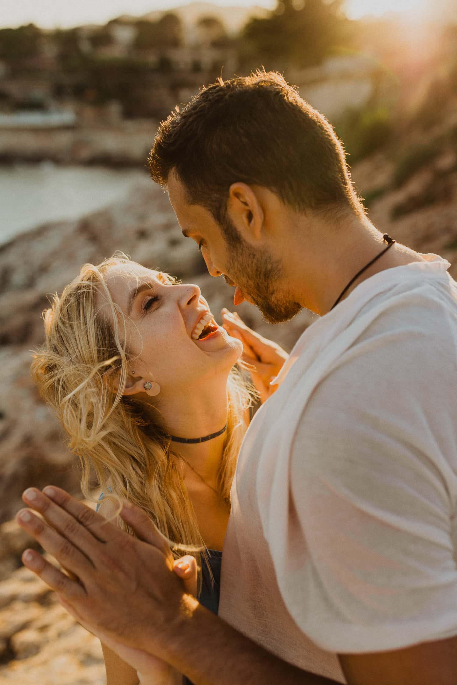 Couple photo shoot in Costa Brava