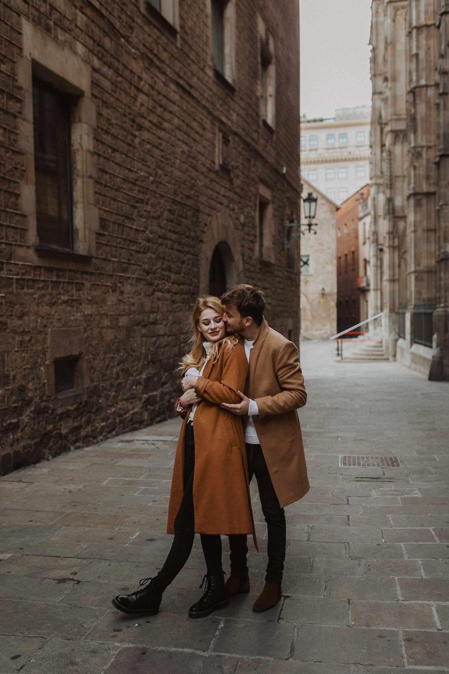 Travel photo shoot in Gothic, Barcelona