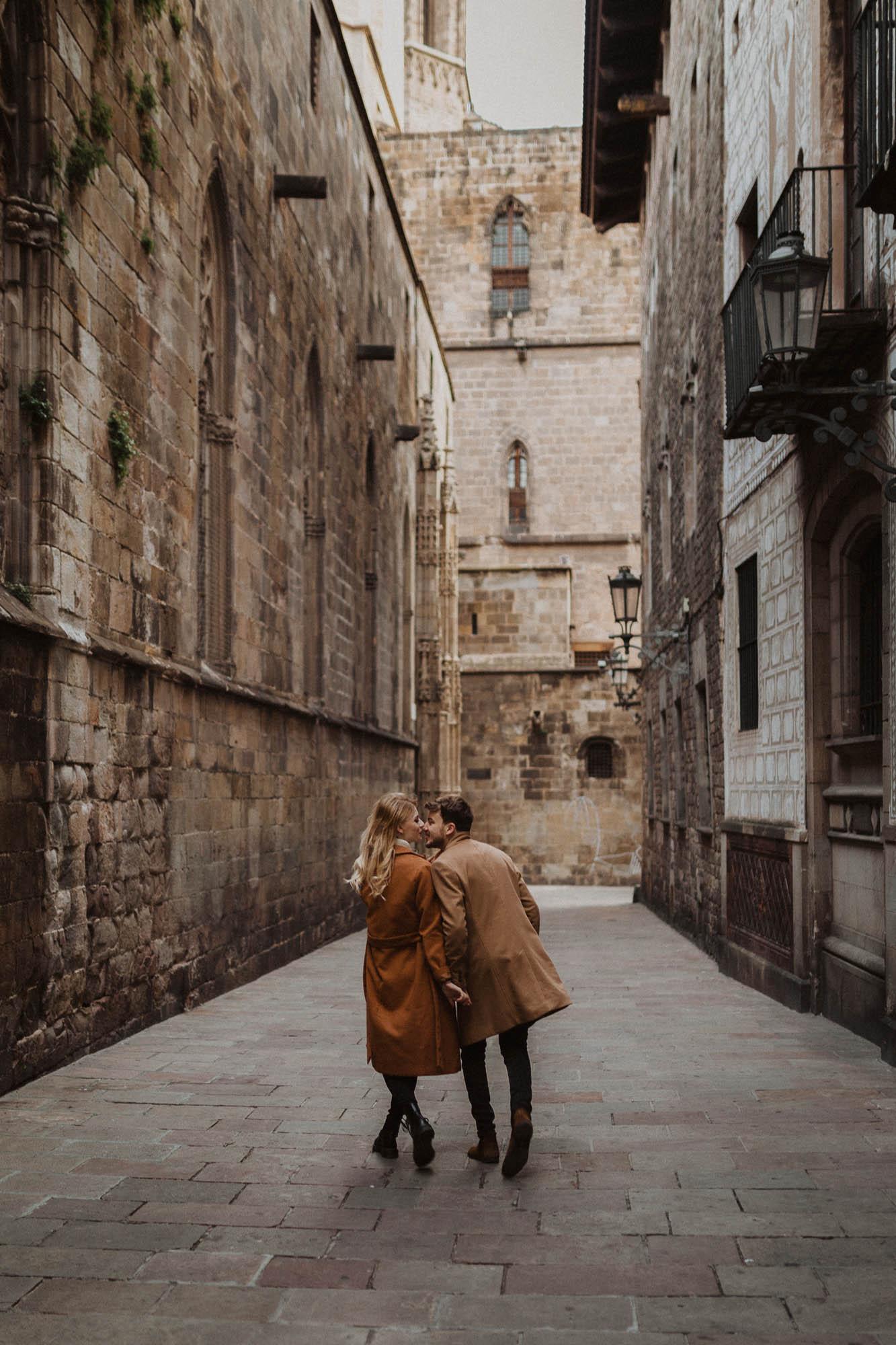 Barcelona couples photoshoot