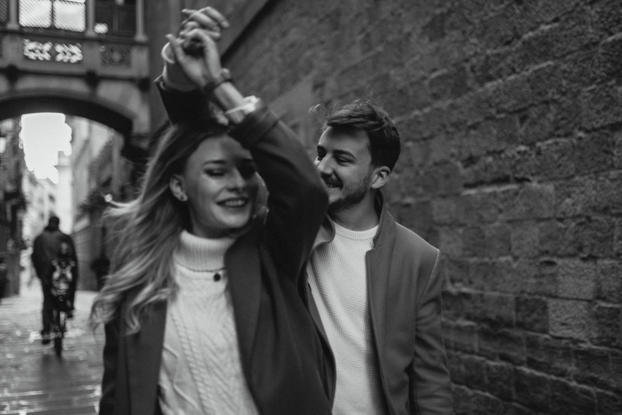 Barcelona couples photos