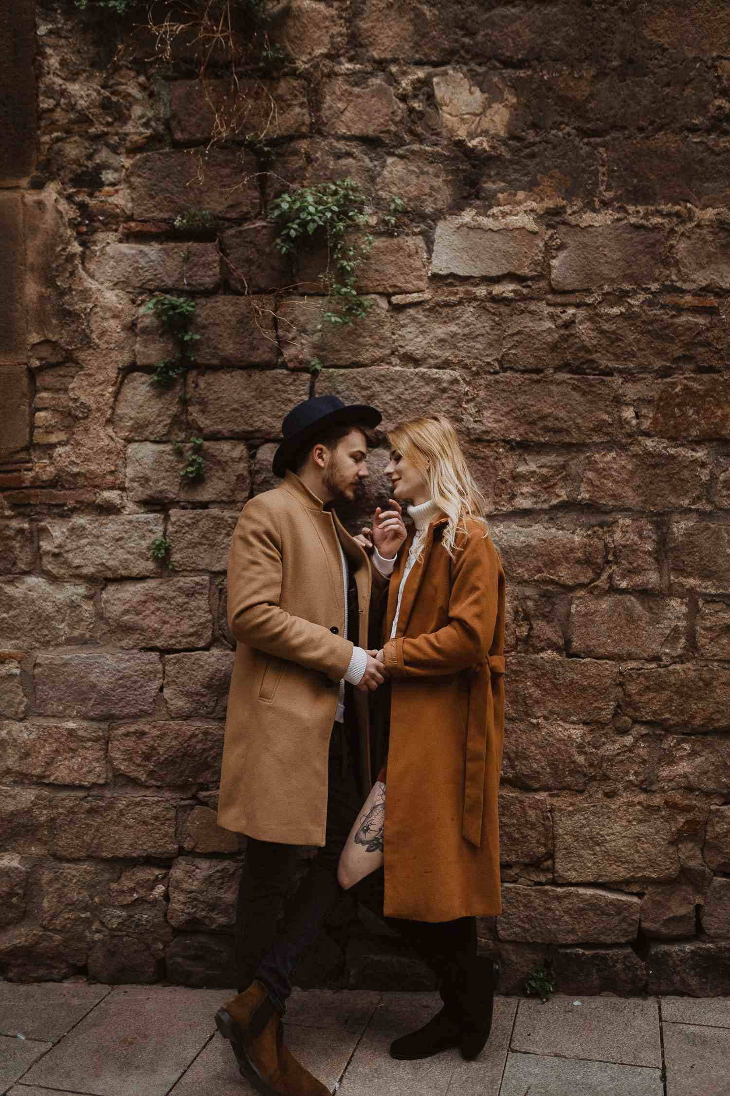Photo shoot for couples in Barcelona