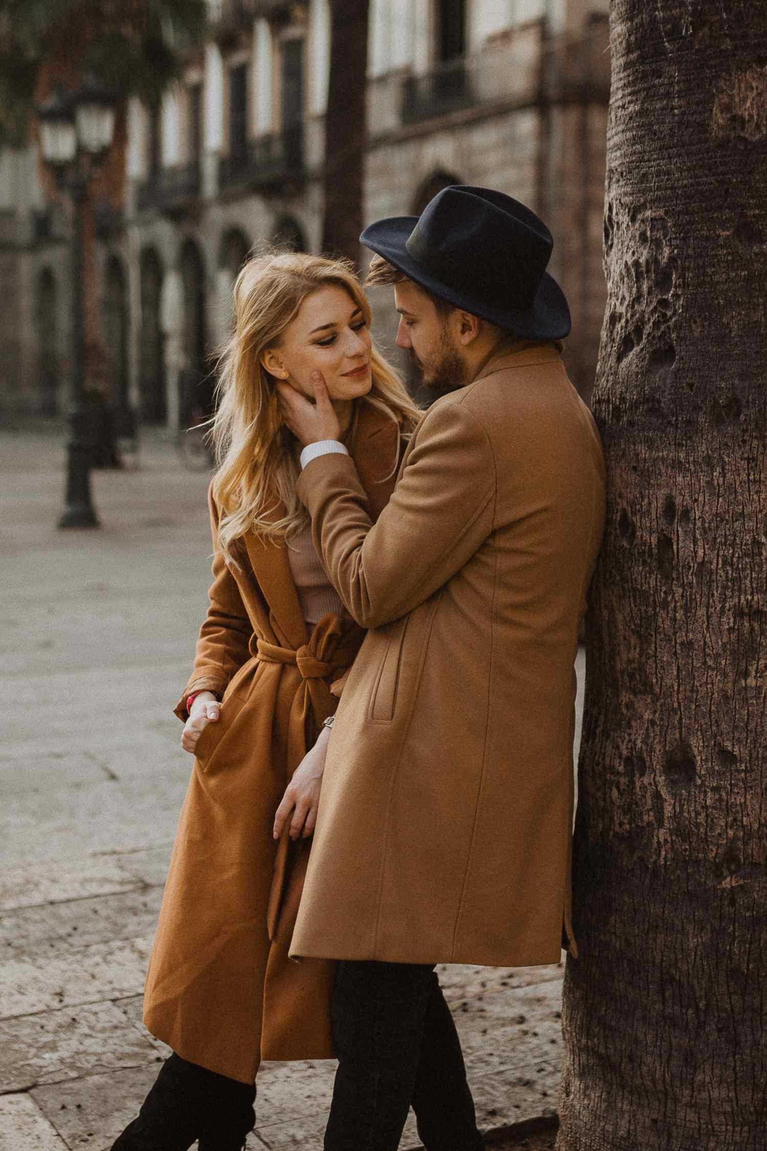Couple photoshoot in Barcelona