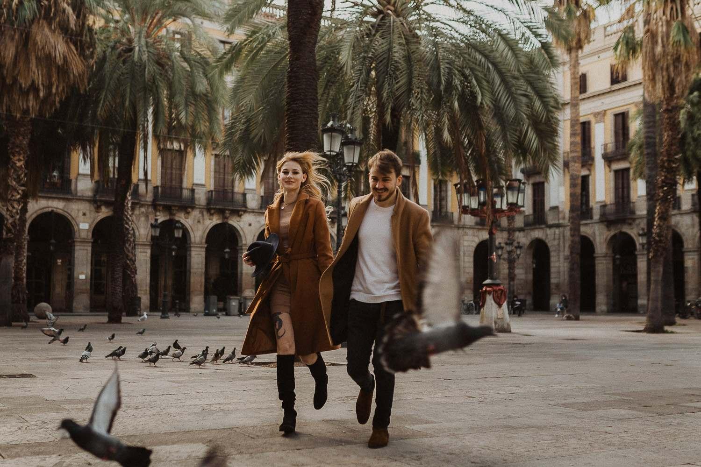 Couples photoshoot in Barcelona