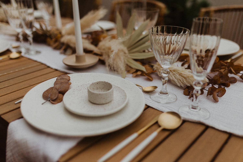 Wedding table deecorations