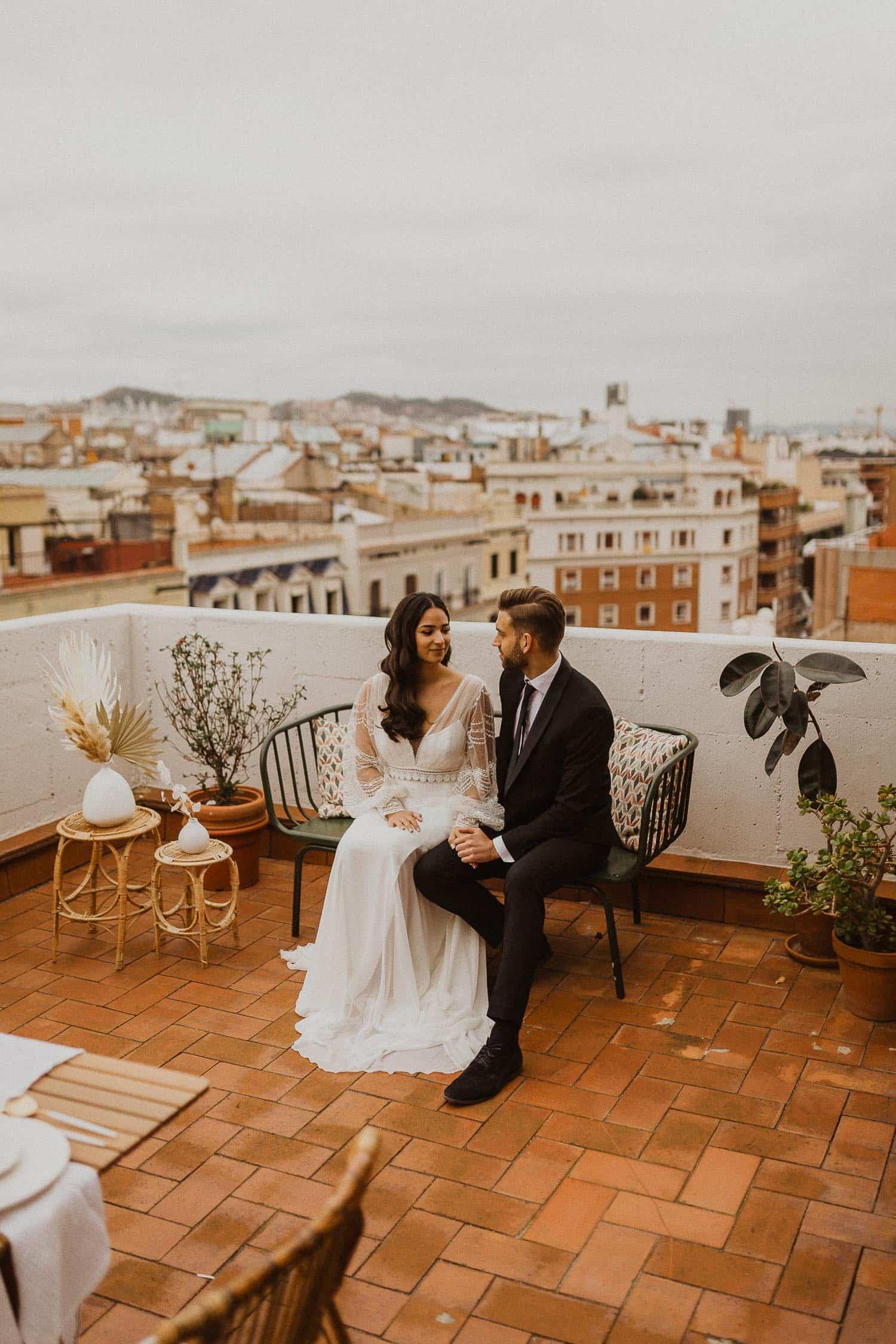 Rooftop of Barcelona